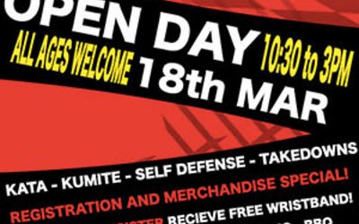 Join Us For March Open Day